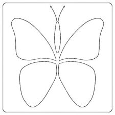 Stencil ~ BUTTERFLY ~ by Laundry Basket Quilts