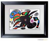 Joan MIRO Lithograph LIMITED Edition ORIGINAL ++++Archival FRAME ~ Modern NOW™