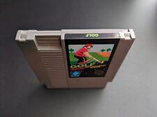 Golf Black Box Game Mario Authentic Nintendo NES NRMT condition game cartridge