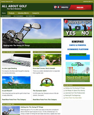 Golf Tips Website Business For Sale Work From Home Business Opportunity