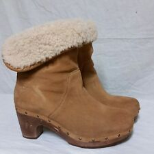 330adefacac UGG Australia Leather Boots Fold-Over for Women for sale | eBay
