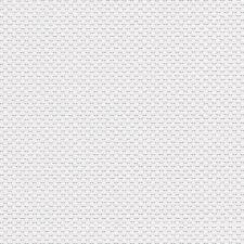 Basketweave White Raised Textured Paintable Wallpaper 48926
