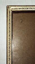 Vintage Gold & Creamy White Metal 11x14 Picture Frame Wedding Photo