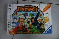 tiptoi Abenteuer Tierwelt vier Wissensspiele Tiere RAVENSBURGER fast NEU