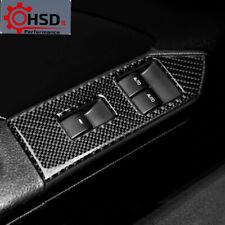 Carbon Fiber Window Lifter Control Armrest Panel Trim Ford Mustang 2009-2013