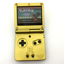 Zelda Majora High Backlit LCD AGS-101 Nintendo GameBoy Advance SP GBA SP Console