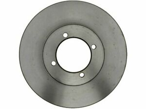 For 1974 Nissan 260Z Brake Rotor Front AC Delco 58396BQ Silver -- New