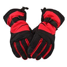 Men's Snow Ski Gloves Winter Snowboard Motorcycle Snowmobile Mittens