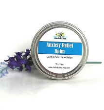 Anxiety Stress Relief Essential Oil Blends Calm Balm Natural Wellness Self Care