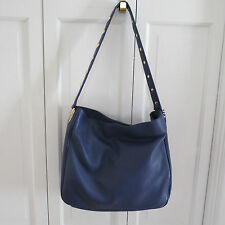 Dramatic Perlina Francesca NS Purple Leather Hobo/Shoulder Bag NWOT  $248