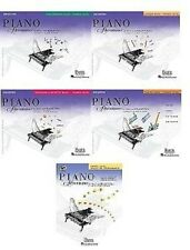 NEW FABER PIANO ADVENTURES PRIMER LEVEL - 5 BOOK PACK LESSON THEORY TECHNIQUE