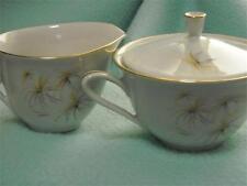 Hutschenreuther Arzberg Creamer & Sugar Bowl Vintage Germany Bavaria MCM