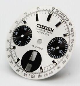 Dial Crystal Citizen 8110 Cal. Octagon Bullhead Silver white Panda Dial 901298KA
