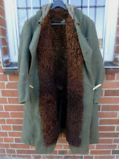 Elite Xx Eastern Front Officer's Coat Fur Coat Winter Coat with Sheepskin