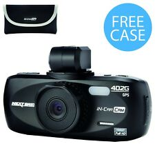 "Nextbase 402G Professional Car Dash Dashboard Video Camera 2.7"" 1080P HD DVR Cam"