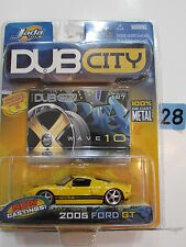 JADA DUB CITY  MERCEDES - 2005 FORD GT YELLOW   #107 SCALE 1:64