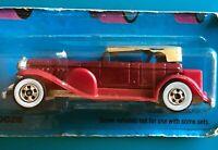 NEW! Vintage 1976 Hot Wheels '31 Doozie Maroon Tan Top White Wall Tires #2533