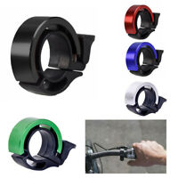 Q-Type Aluminum Alloy Ring Horn Cycling Handlebar Alarm Bicycle Bike Bell Safety