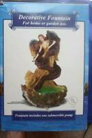 ANGEL TABLETOP TABLE TOP WATER  FOUNTAIN HAND CRAFTED CERAMIC ART LAS  VEGAS NEW
