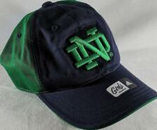 LZ Adidas Girls One Size OSFA Notre Dame Fighting Irish Baseball Hat Cap NEW D67