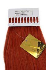 Extensions de Cheveux véritables Set 100 x 1 G mèches Kératine collages 49cm