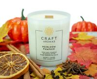 Pumpkin Spice Scented Candle - Essential Oil Aroma Therapy - Natural Soy Candles