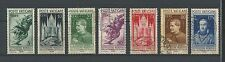 VATICAN - 1935 YT 72 à 78 - TIMBRES OBL. / USED - COTE 97,50 €
