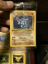 1st Edition MACHAMP Pokemon Base Set Card 8/102 SEALED Holo NEVER Opened Mint!!!