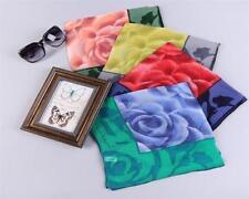 Rosen Damen-Schals aus 100% Seide