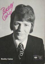 Autogramm - Buddy Caine