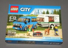 LEGO Van & Caravan 60117 CITY Set NEW Sealed