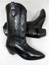 Cowboystiefel Westernstiefel schwarz  Style Vintage boots Santiags  37 Leder