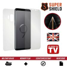 Samsung Galaxy S9 SCREEN PROTECTOR FRONT + BACK + SIDES CURVED FULL BODY SHIELD