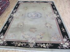 A DECORATIVE OLD HANDMADE CHINESE ORIENTAL RUG (300 X 200 cm)