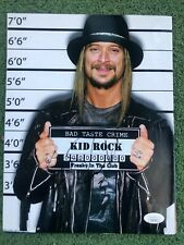 KID ROCK HAND SIGNED PHOTOGRAPH 8.5x11 AUTHENTIC AUTOGRAPH JSA COA RARE B