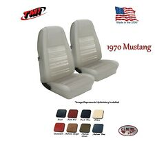 Front Bucket Seat Upholstery Covers 1970 Mustang All Models, by TMI, Any Color