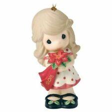 2016 Precious Moments Wishing You a Christmas Tree Ornament 161002