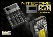 Nitecore NEW i4 Four Channel Universal Vape Battery Charger / 20700 26650 18650