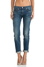 "RAG & BONE Women's ""The Dre"" Bradford Wash Skinny Denim Jeans SZ: 25 NWT"