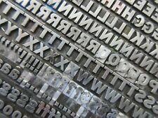 Letterpress Lead Type 24 Pt. Franklin Gothic     C71