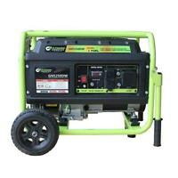 Green-Power America 5250 Watt Portable Dual Fuel Gas/Propane Generator GN5250DW