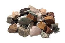 Stone tumbling Rock - 1kg MIXED Lapidary Rough Rock