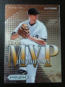Jim Johnson-2013 Panini Prizm-MVP Insert-no.3-nrmt/mint-Baltimore Orioles