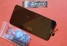 DISPLAY LCD +TOUCH SCREEN ORIGINALE HUAWEI PER HONOR 7X NERO VETRO BND-L21 NUOVO