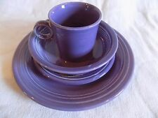 FIESTA WARE LILAC 4 PC PLACESETTING