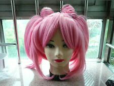 Pink Pigtails & 2 ponytails Cosplay Costume Wig Sailor Moon Chibi Moon Chibiusa