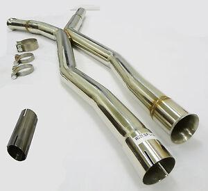 Becker Long Wheelbase Exhaust X-Pipe For 07 To 13 Mercedes-Benz S550 W221