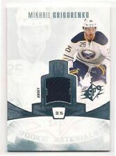 Mikhail Grigorenko 13-14 Upper Deck SPx Rookie Materials Game-Used Jersey