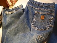 Carhartt Mens Size Actual 45x31 Relaxed Fit Jeans
