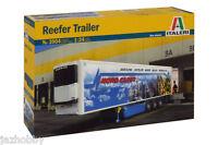 Italeri 3904 1/24 Scale Show Truck Model Kit Reefer Trailer